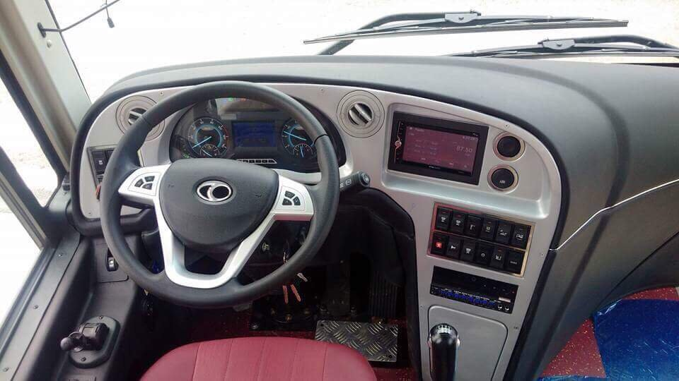 hệ thống lái, bảng điều khiển