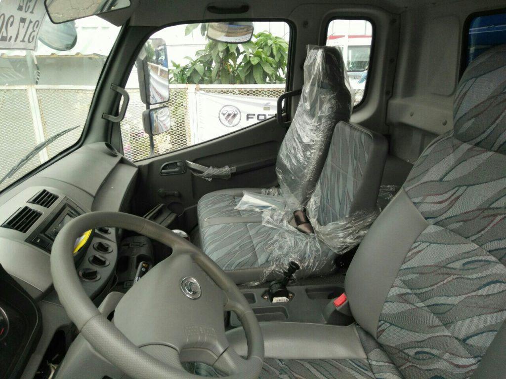 nội thất xe ben 9 tấn