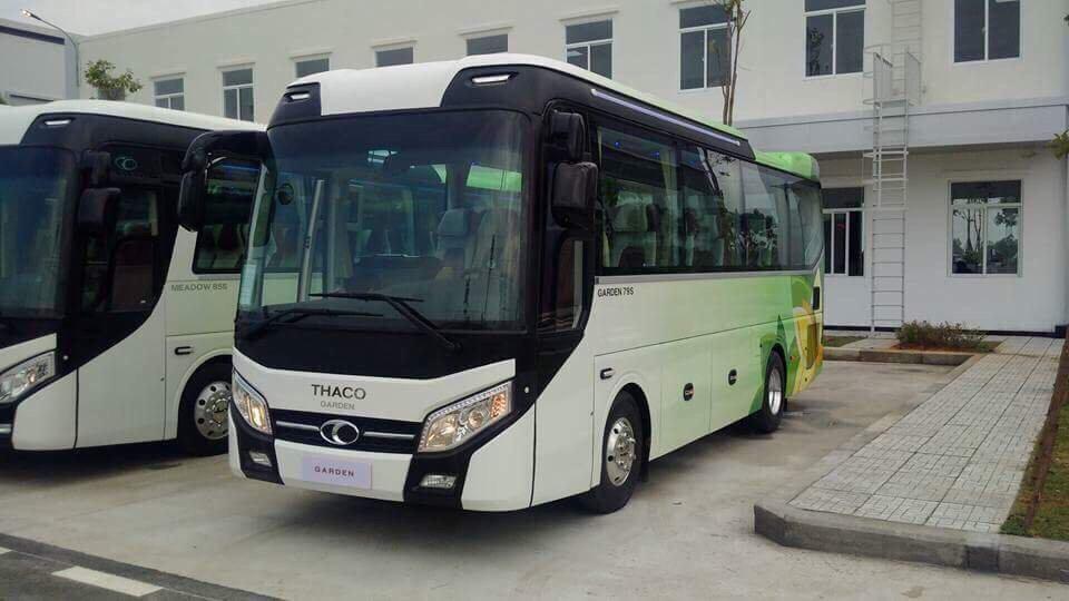 xe bus thaco 29 chỗ tại hải phòng