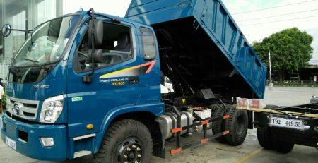 xe ben trường hải 7,9 tấn