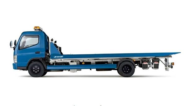 Xe tải Thaco Fuso canter 6.5 cứu hộ giao thông