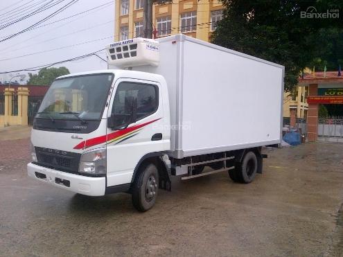 Xe tải Thaco Fuso canter 6.5 thùng kín đông lạnh