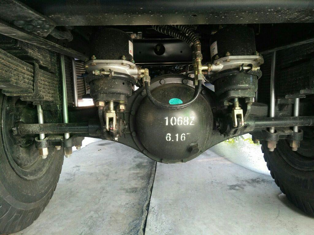 hệ thống cầu xe ben 5 tấn