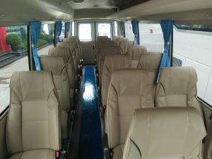 Nội thất xe rosa 22 ghế