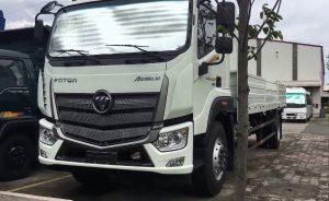 xe tải auman c160 thùng lửng