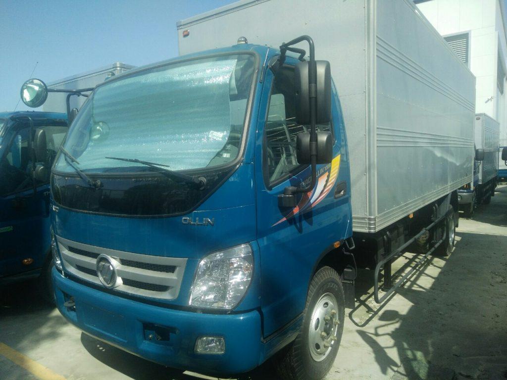 Ngoại Thất xe tải ollin 7 tấn
