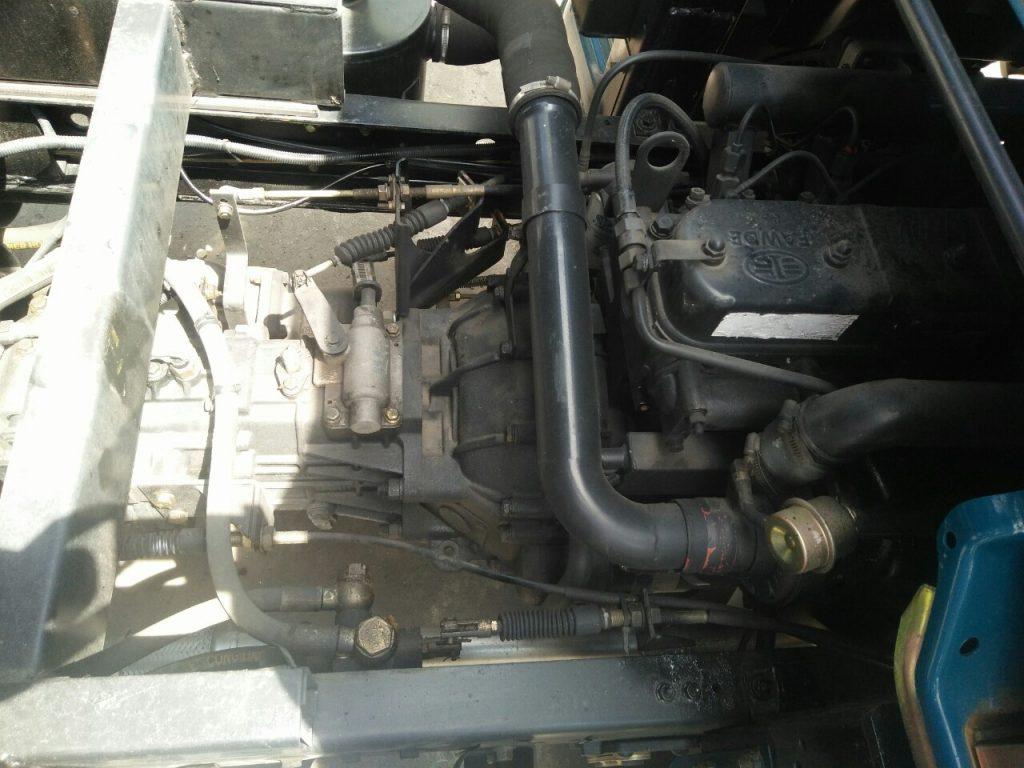 động cơ xe ben 3,5 tấn