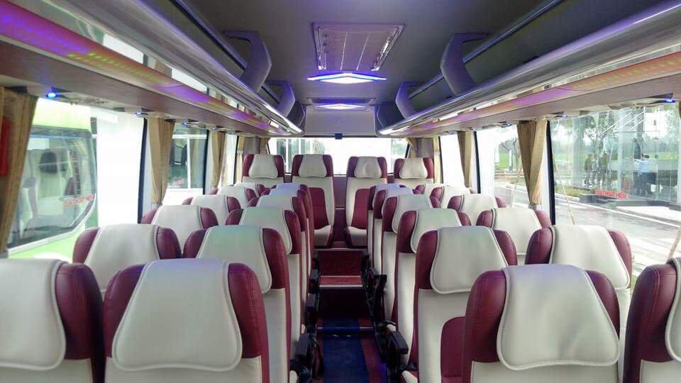 nội thất xe khách 29 chỗ tại hải phòng