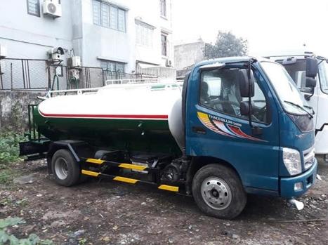 xe chở xăng dầu