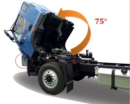 Cabin xe tải 9 tấn c160
