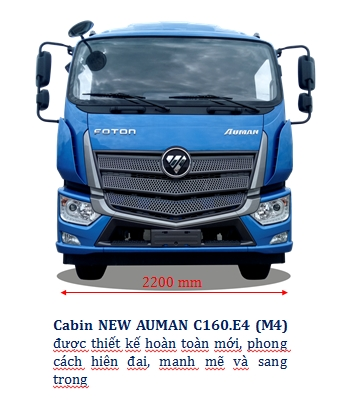 Cabin xe tải 9 tấn - C160