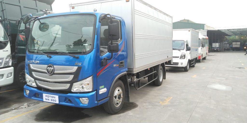 Xe tải thaco 3.5 phần mềm foton m4-350
