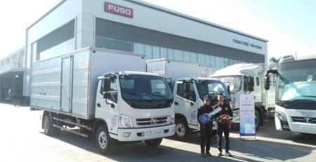 Đại lý xe tải thaco Hải Phòng