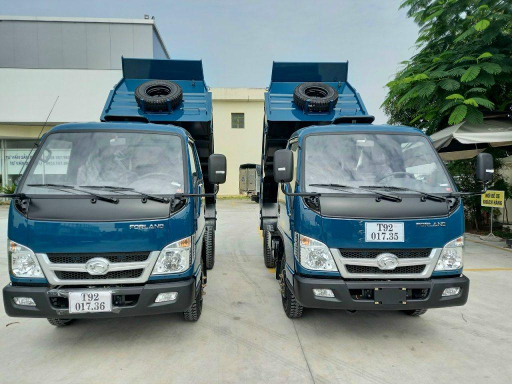 Ngoại Thất xe ben 3.5 tấn thaco FD600